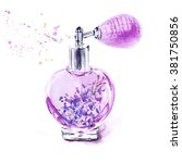 Hand Drawn Vintage Perfume...