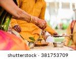 helpful hindu man   Shutterstock . vector #381753709