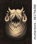 demon   Shutterstock . vector #381756388