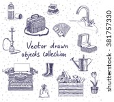 Vector Drawn Objects Collectio...