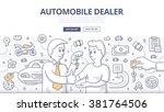 doodle design style...   Shutterstock .eps vector #381764506