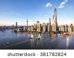 Aerial View Of Lujiazui...