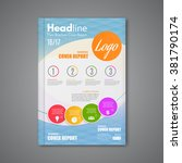 business design vector template ... | Shutterstock .eps vector #381790174