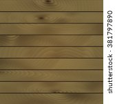 horizontal wooden planks vector ... | Shutterstock .eps vector #381797890