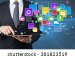 market. | Shutterstock . vector #381823519