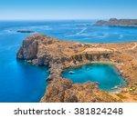 view on the mediterranean sea... | Shutterstock . vector #381824248