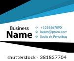 vector modern creative and... | Shutterstock .eps vector #381827704