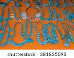 different types of craft...   Shutterstock . vector #381835093