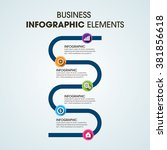 business infographics vector... | Shutterstock .eps vector #381856618