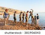 dead sea resort  jordan   apr...   Shutterstock . vector #381906043