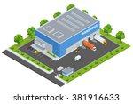page web design template. set... | Shutterstock .eps vector #381916633