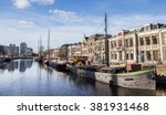 leeuwarden  netherlands  ... | Shutterstock . vector #381931468