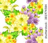 abstract elegance seamless... | Shutterstock .eps vector #381974584