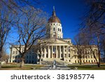Small photo of Kansas State Capitol Building in Winter