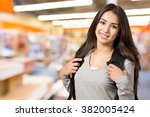 student. | Shutterstock . vector #382005424