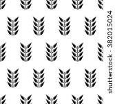 seamless floral raster pattern. ... | Shutterstock . vector #382015024