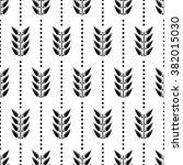 seamless floral raster pattern. ... | Shutterstock . vector #382015030