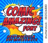 Creative High Detail Comic Fon...