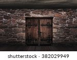 medieval door background | Shutterstock . vector #382029949