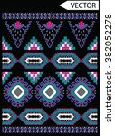ethnic embroidery graphic... | Shutterstock .eps vector #382052278
