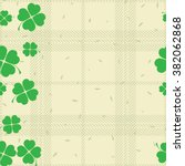 St Patric Day Pattern. Green...