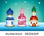 moscow building design | Shutterstock .eps vector #38206369