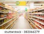 supermarket blur background... | Shutterstock . vector #382066279