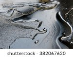 Crude Oil Surface Background...