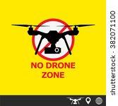 drone | Shutterstock .eps vector #382071100