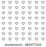 seamless pattern with beautiful ... | Shutterstock .eps vector #382077310