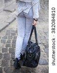 jeans closeup | Shutterstock . vector #382084810