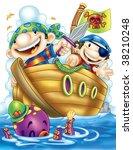 pirates   Shutterstock . vector #38210248