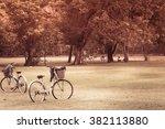 Detail Of A Bicycle Handlebar...