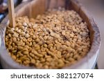 raw coffee beans  not roasted  | Shutterstock . vector #382127074