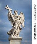Beautiful Angel Sculpture In...
