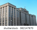 the state duma of russian... | Shutterstock . vector #382147870