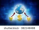 global currencies | Shutterstock . vector #382148488