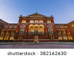 victoria and albert museum... | Shutterstock . vector #382162630