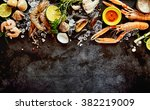 High Angle Seafood Cuisine...