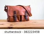 men's accessories with brown... | Shutterstock . vector #382223458