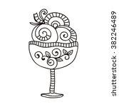 ice cream vector illustration | Shutterstock .eps vector #382246489