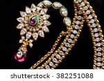 beautiful luxury tika | Shutterstock . vector #382251088