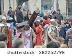 gora kalwaria   april 17  2011  ... | Shutterstock . vector #382252798