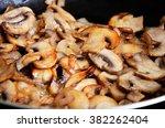 Sliced Mushrooms Stir Fried In...