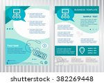 internet community on vector... | Shutterstock .eps vector #382269448