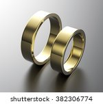 weddig ring. sign of love.... | Shutterstock . vector #382306774