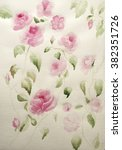watercolor roses | Shutterstock . vector #382351726