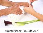 beauty treatment photo of nice... | Shutterstock . vector #38235907