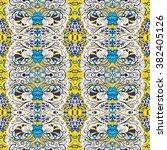 tracery seamless calming...   Shutterstock .eps vector #382405126
