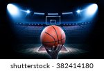 basketball arena | Shutterstock . vector #382414180